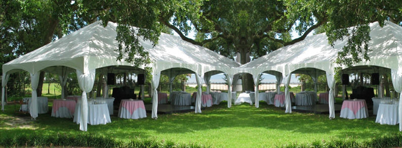 Some of our Frame Tents size we carry are the following & Glens Tent Rentals